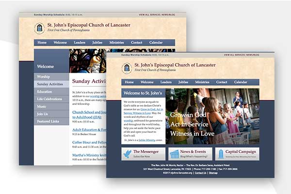 St. John's Episcopal Church - Website